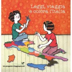 Leggi, viaggia e colora l'Italia